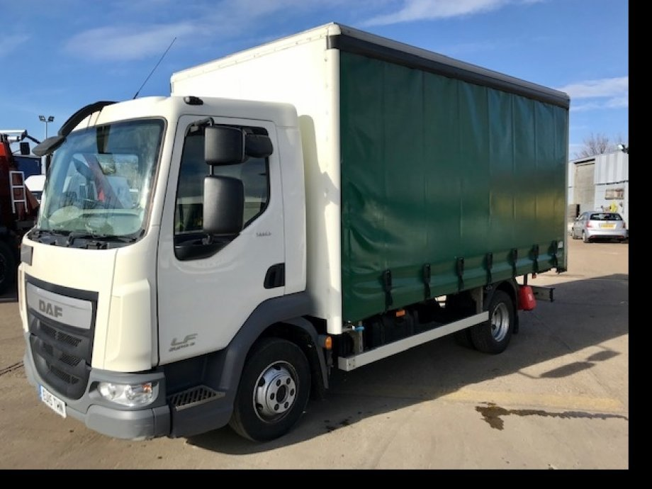 FALF.180 16' Curtain, Full DAF History, Imacculate throughout