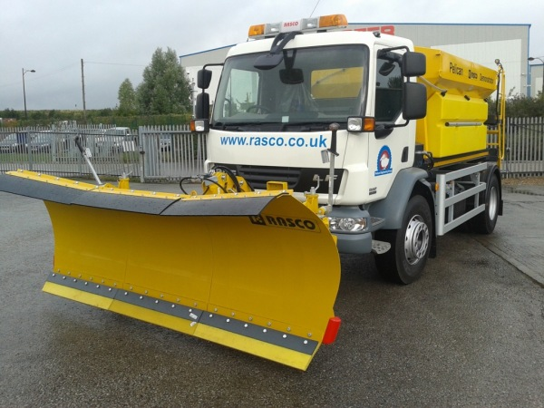 New & Unregistered DAF LF 55 Snow Plough Gritter