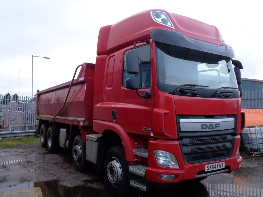2014 (64) DAF FADCF-440, Space Cab, Steel Tipping Body