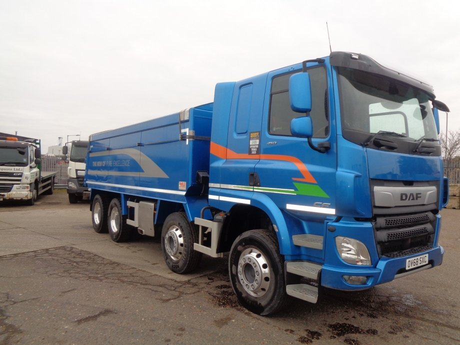 2018 (68) DAF FADCF-450, Construction Chassis