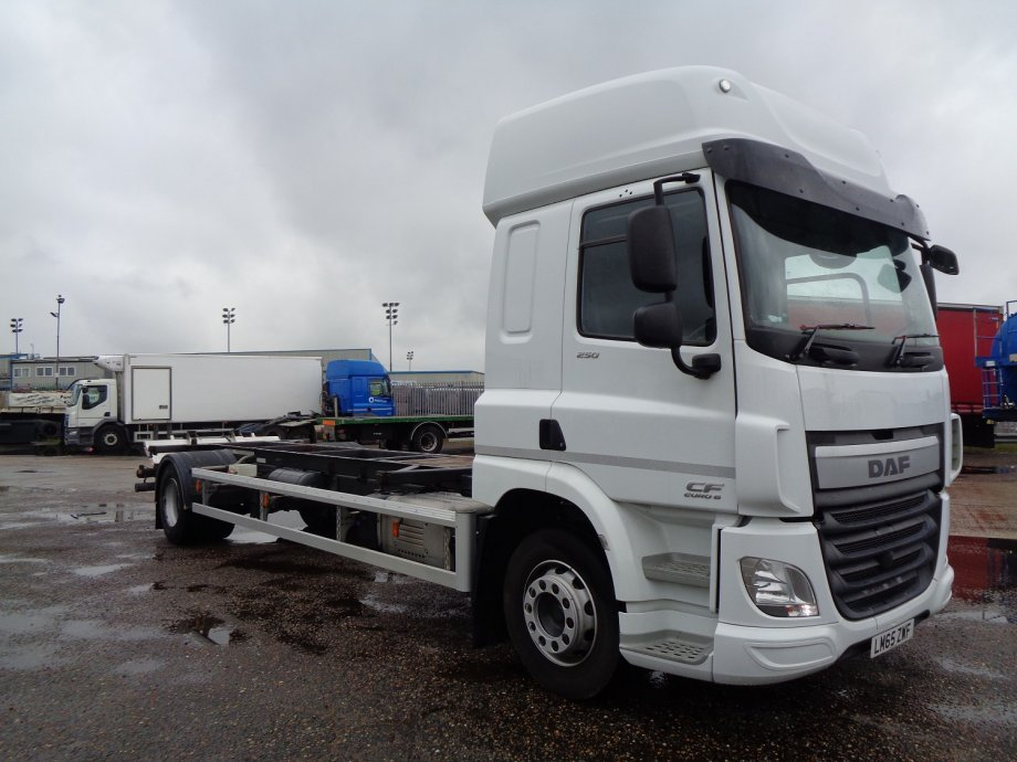 2016 (65) DAF FACF-250 Space Cab Demount Chassis